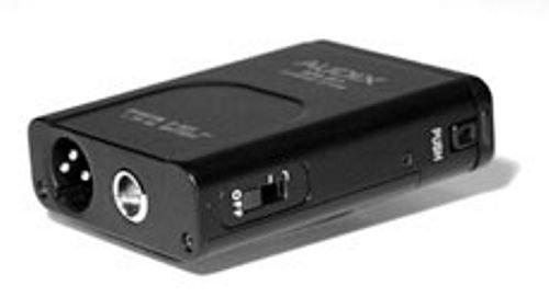 Audix APS-911 Adaptateur pour alimentation fantôme fonctionnant avec piles APS911