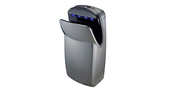 World Dryer V-639A VMax 110-120V Hi-speed Vertical Hand Dryer, High Impact ABS, Silver - Bathroom Hand Dryers - Amazon.com