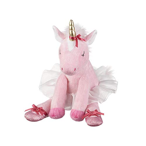 G Ganz Baby Girl Plush Stuffed Animal 9 inches Annabella Ballerina Unicorn Toy from G