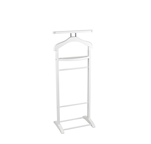 - Proman Products VL17015 Knight Valet with Extended Bar and Key Rack, 43.5