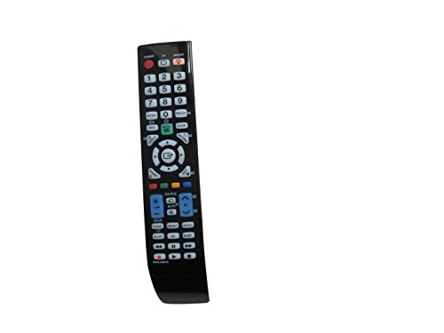 Universal Replacement Remote Control Fit for Samsung LN46B530 UN55B7100 LN32B350 LN46B500 PN58B650 UN40B7000 UN46B7000 UN46B7100 UN55B7100WF UN55B8000 LN26B360 LN26B360C5D Plasma LCD LED HDTV TV