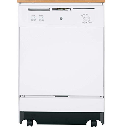 Price comparison product image GE GSC3500DWW Console Dishwasher (Renewed)