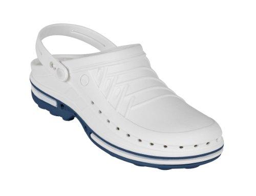 misti Zoccoli 4500100 Bianco Wock bianco blu per adulti g8HPBZxwq