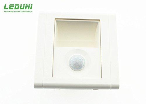 Leduni Baliza LED con Sensor PIR Nomis Square 1.2W