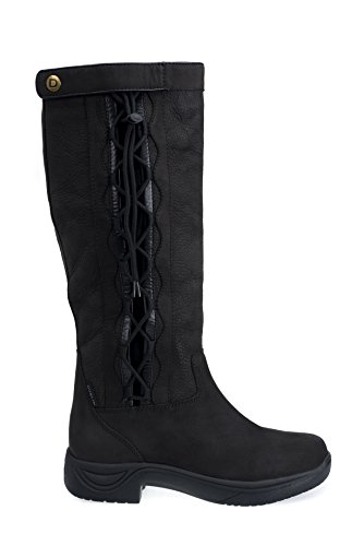 Dublin Riding Boots - Dublin Ladies Pinnacle Black Boots 8.5