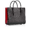 Paloma Large Black Calfskin - Handbags - Christian Louboutin