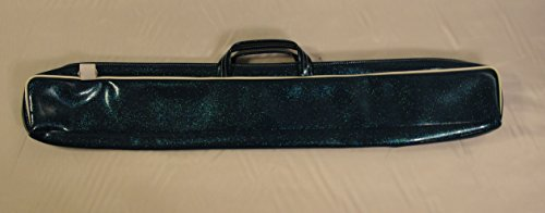 Sparkle Vinyl Twirling Baton Case (Blue)