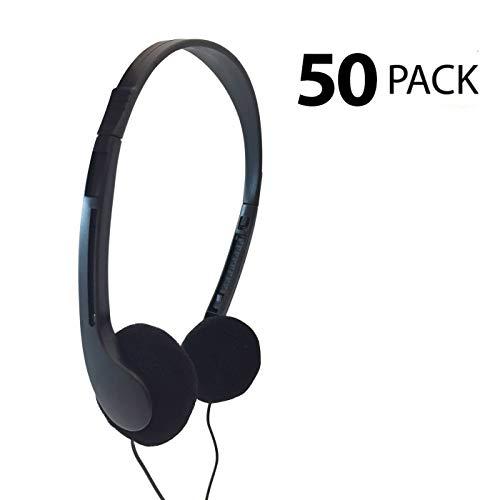 Classroom Testing ST-08 Disposable Stereo Headphones - 50 Carton