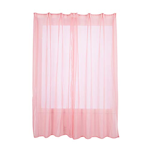 (Leaves Curtain Tulle Window Treatment Voile Drape Valance 2 Panel Fabric Window Treatments Window Blinds Vertical Blinds Window Shades Curtains Blackout Curtains Sheer Curtains Lace Curtains)
