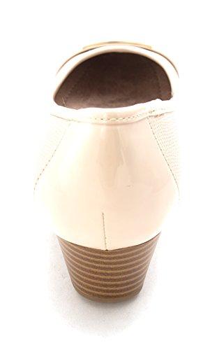 Giani Bernini Mujeres Ambir Wedge Heels Ecru