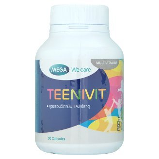 Mega We Care Teenivit 30 tablets