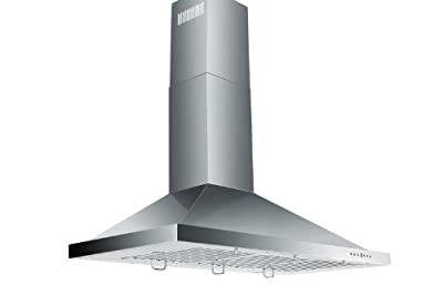 Z Line KB-42-LED Stainless Steel Wall Mount Range Hood, 42-Inch