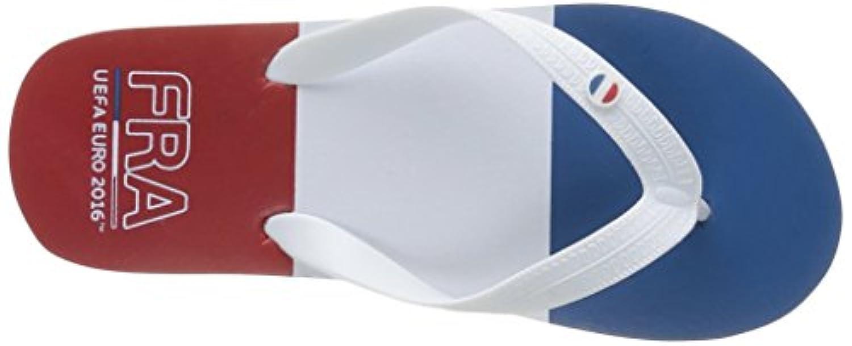 Euro 2016 Boys' Leonard Flip-Flop Sandals Multicolor Size: 5