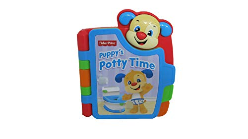 Fisher-Price Laugh and Learn Learn with Puppy Potty - Replacement Book FFN36
