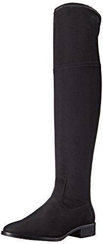 Ivanka Trump Women's Livi Riding Boot, Black, 7.5 M US