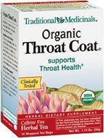 Traditional Medicinals Traditional Coat (Traditional Medicinals, Organic Throat Coat Tea, 16 ct)