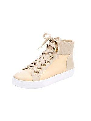 Heine Damen Sneaker, Sneaker, Damen Beige-Gold - e5e239