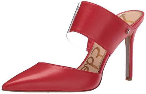 Sam Edelman Women's Hope Pump, Candy Red/ Clear, 9.5 M US - Stiletto Shoes Designer