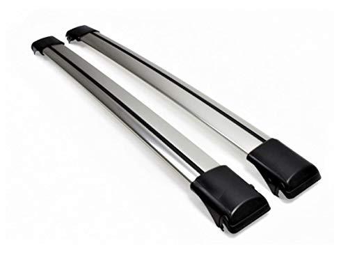 2016 Silver Anodized HippoBar Lockable /& Aerodynamic Cross Bars Set For Volvo V70 Estate Wagon MK3 2008