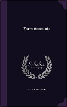 Book Farm Accounts
