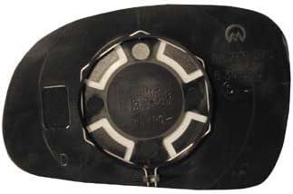 Verre plaque miroir r/étroviseur 406 1995-1999 droit thermique