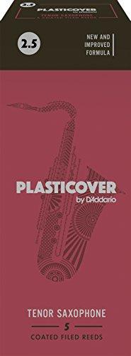 Rico Plasticover Tenor Sax Reeds, Strength 2.5, 5-pack