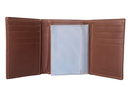 Wallets for Men - Handmade Slim Mens Wallet Credit Card Holder with ID Window ()