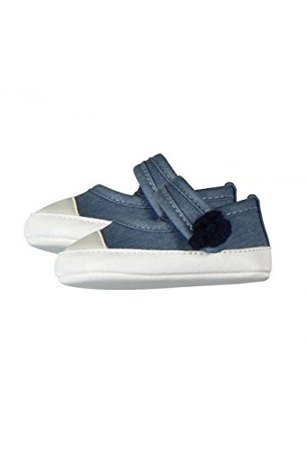 Boboli Zapatillas Denim Para Bebés Azul