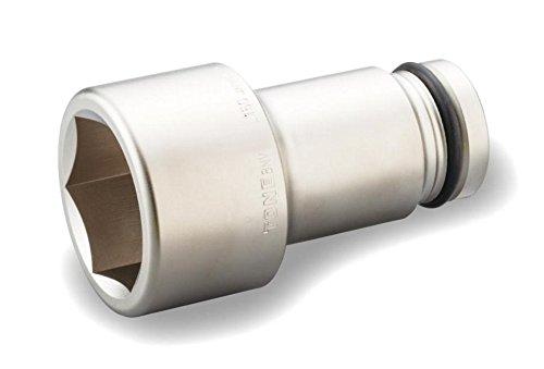 トネ(TONE) インパクト用超ロングソケット 8NV-50L150 差込角25.4mm 二面幅50mm B00762GU7C 二面幅:50mm  二面幅:50mm