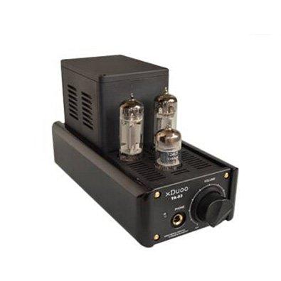 xDuoo TA-03 XMOS WM8740 24Bit/192KHz USB DAC 12AU7 Tube Headphone Amplifier