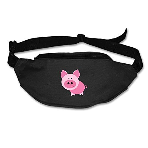 Michael Trollpoe Waist Bag Pig Clip Art Fanny Pack Stealth Travel Bum Bags Running Pocket for Men Women for $<!--$14.90-->