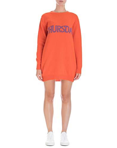 Ferretti Alberta J048566021041 Donna Abito arancione in lana wBwfq
