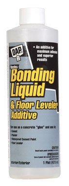 Dap 35082 1 Pint White Bonding Liquid & Floor Leveler (Liquid Stucco)