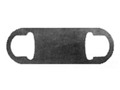 Crouse-Hinds Condulet GASK578 Solid Conduit Body Gasket, 2-1/2 to 3 in Hub, for Use with Form 7 Rigid Conduit, Neoprene, Black