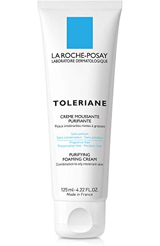 La Roche-Posay Toleriane Purifying Foaming Cream Cleanser, 4.22 Fl. Oz. (Best Drugstore Anti Aging Skin Care Products)