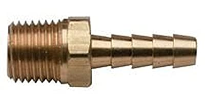 MettleAir Male Barb Hose/Tubing Fitting Connector