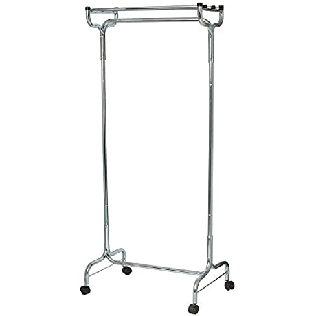 36 Portable Coat Hat Rack With Casters