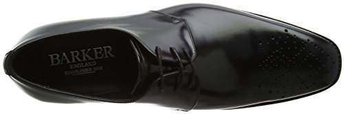BARKER Herren Darlington Derbys Black (Black Polished)