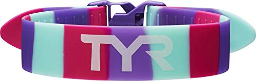 TYR Rally Training Strap, Pink/Purple/Mint, One ()