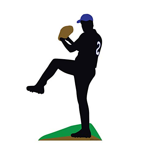 Advanced Graphics Baseball Silhouette Life Size Cardboard Cutout Standup