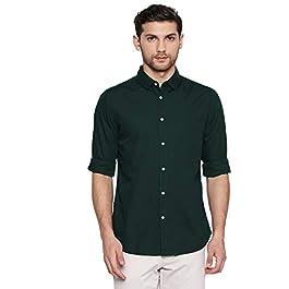 Buy Dennis Lingo Men's Solid Slim Fit Casual Shirt India 2021