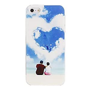 Romantic Lovers by the Beach Pattern PC Hard Case for