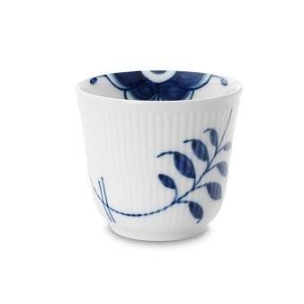 Fluted Mega Thermal - Blue Fluted Mega 8.5 oz. Thermal Mug by Royal Copenhagen