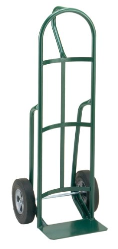 Little Giant T-182-10 Steel Industrial Strength Hand Truck with Loop Handle, 10