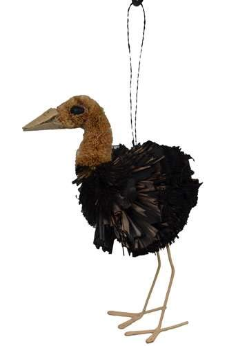 3D Art Brush BrushArt Ostrich Ornament