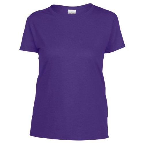 Gildan- Camiseta Missy de algodón grueso de manga corta para chica/mujer Lilac