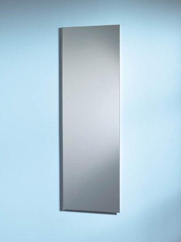 NuTone 735M34WHG Pillar Single-Door Recessed Mount Specialty Medicine Cabinet with Pencil-Edge Mirror, 1 by 36-Inch