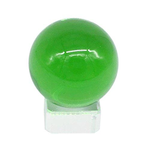 YRD TECH 40MM Quartz Colourful Crystal Glass Ball