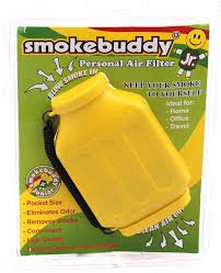 Yellow Smoke Buddy Junior - Personal Air Purifiery and Odor Diffuser