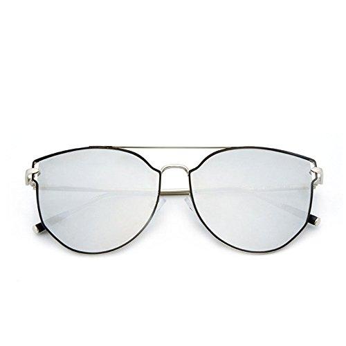 La lunettes lumière de Lunettes soleil en Hommes extérieur la lunettes à pour la de convient intégrale so lunettes éblouissement et uv à monture anti polarisées avec de conduite soleil conduite Silver anti PXwrUxnqTP